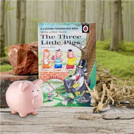 The Three Little Pigs - Personalised Ladybird Book